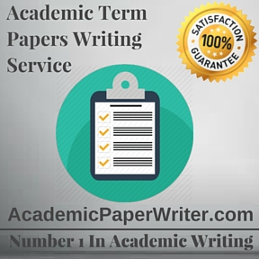 Academic Term Paper Writing Service