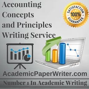 Accounting Concepts and Principles Writing Service