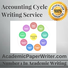 Accounting Cycle Writing Service