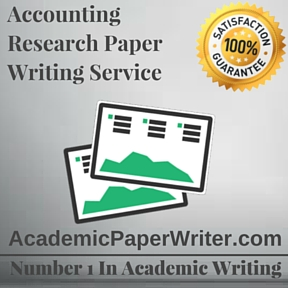 Research paper for accounting