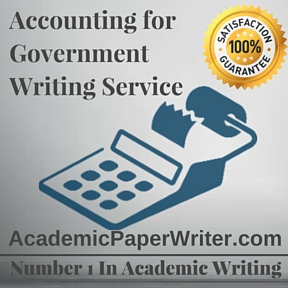 Accounting for Government Writing Service