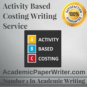 Activity Based Costing Writing Service