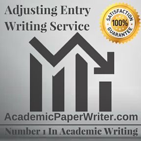 Adjusting Entry Writing Service