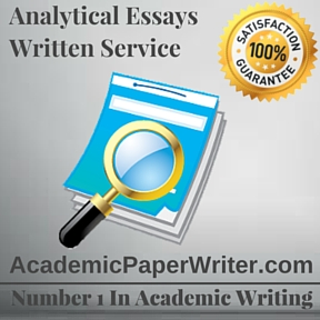 Analytical essay writing service