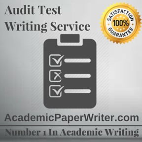 Audit Test writing service