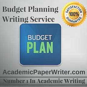 Budget Planning Writing Service