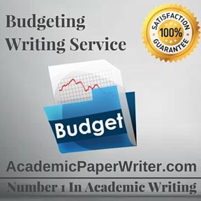 Budgeting Writing Service
