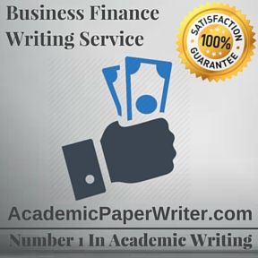 Business Finance Writing Service
