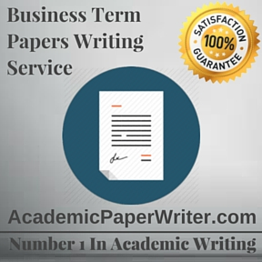 Business Term Paper Writing Service