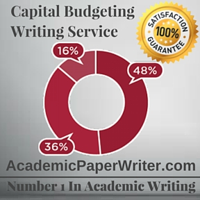 Capital Budgeting Writing Service