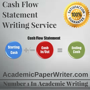 Cash Flow Statement Writing Service
