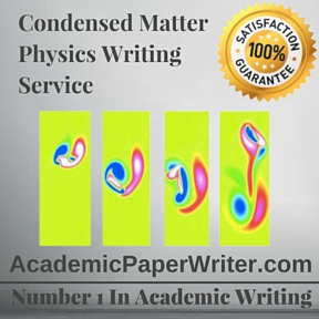 Condensed Matter Physics Writing Service