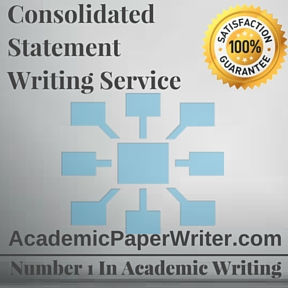 Consolidated Statement Writing Service