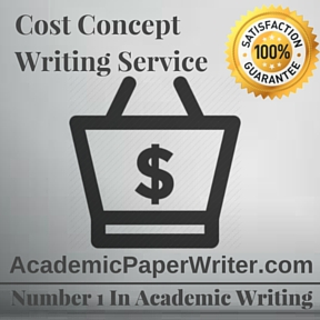 Cost Concept Writing Service