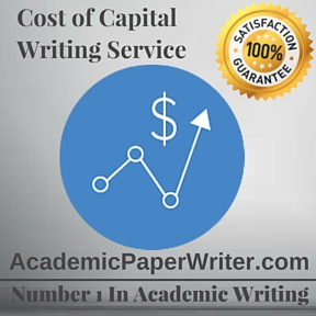 Cost of Capital Writing Service