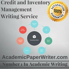 Credit and Inventory Management Writing Service