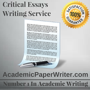 Critical Essays Writing Service