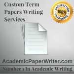 Custom term papers online