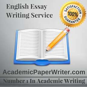 English Essay Writing Service