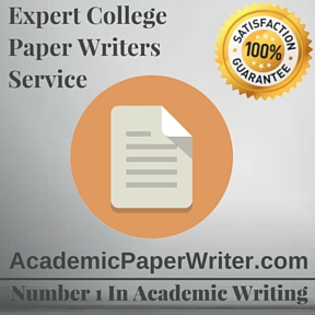 Expert College Paper Writers Service