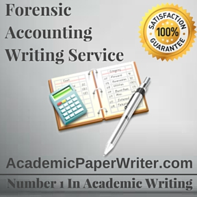 Forensic Accounting Writing Service