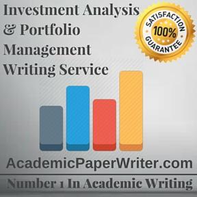 Investment Analysis & Portfolio Management Writing Service