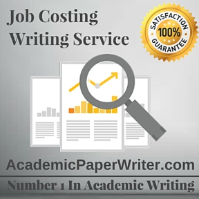 Job Costing Writing Service