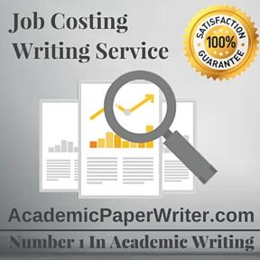 Job Costing Writing Service