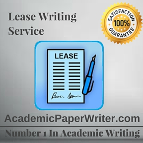 Lease Writing Service
