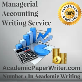 Managerial Accounting Writing Service