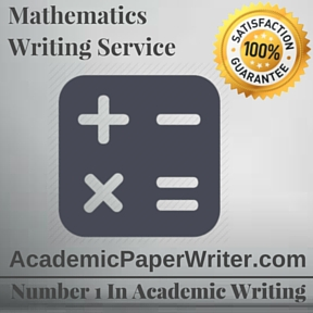 Mathematics Writing Service
