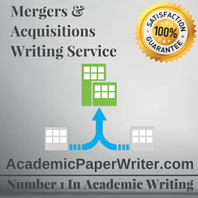 Mergers & Acquisitions Writing Service