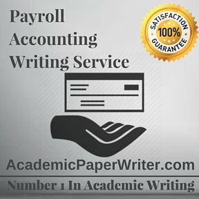 Payroll Accounting Writing Service