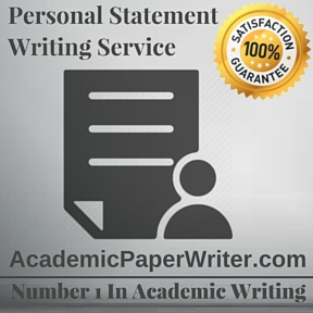 Personal academic writing