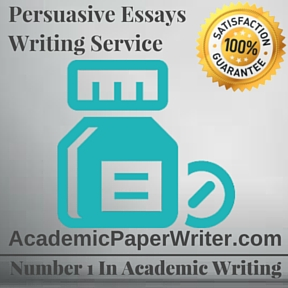 Persuasive Essays Writing Service