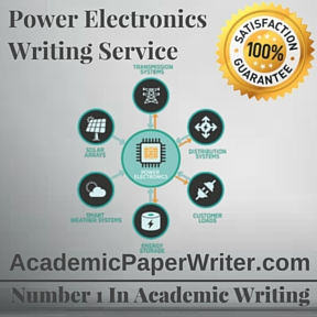 Power Electronics Writing Service
