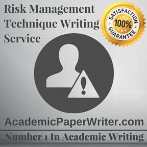 Risk Management Technique Writing Service