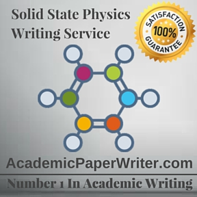 Solid State Physics Writing Service