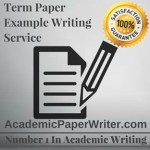 Term Paper Example