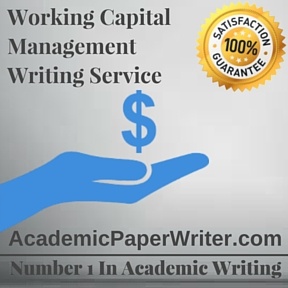 Working Capital Management Writing Service