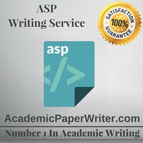 ASP Writing Service