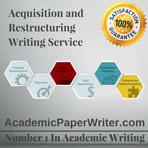 Acquisition and Restructuring Writing Service