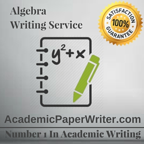 Algebra Writing Service