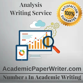 Analysis Writing Service