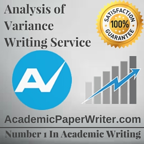 Analysis of  Variance Writing Service