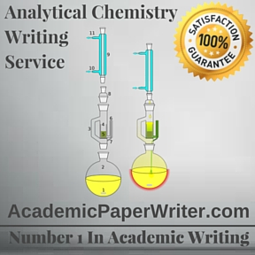 Analytical Chemistry Writing Service