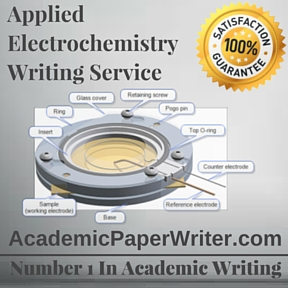 Applied Electrochemistry Writing Service