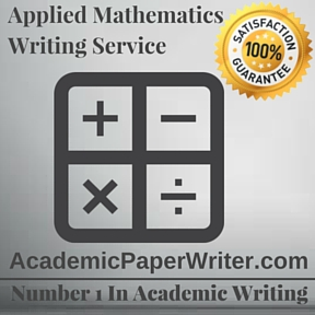 Applied Mathematics Writing Service