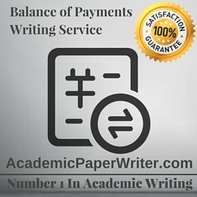 Balance of Payments Writing Service