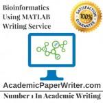Bioinformatics Using MATLAB